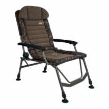 Horgászfotel FOX FX Camo Super Deluxe Recliner Chair - Limited edition