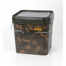 FOX Camo Square Carp Buckets 17L vödör