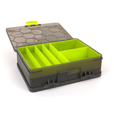 Szerelékes doboz Matrix Feeder and Tackle Double Sided box