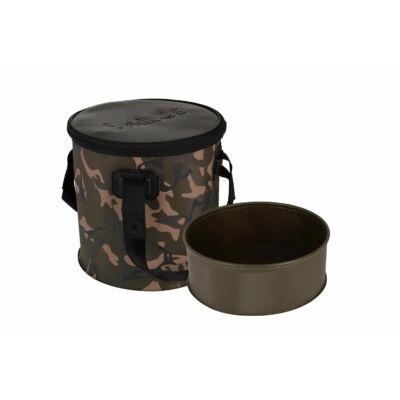 FOX Aquos Camolite Bucket and Insert 12l