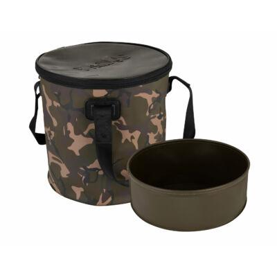 FOX Aquos Camolite Bucket and Insert 17l