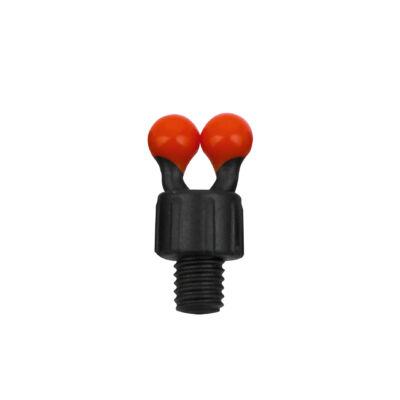 FOX Black Label Coloured Ball Clips - piros