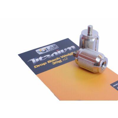 Swinger súly Solar Tackle Titanium Drop Back Weights 2x 30g