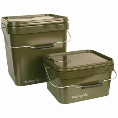 Trakker - Olive Square Container - 17l